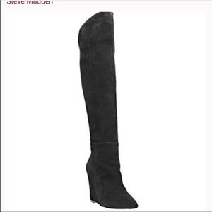 Steve Madden Baffel Knee boot